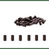 Lot 50 anneaux Hairtip