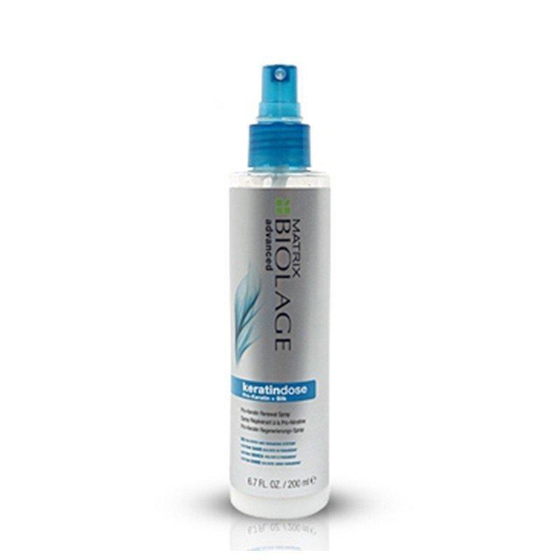 Spray démêlant sans rincage keratindose de Matrix 200 ml