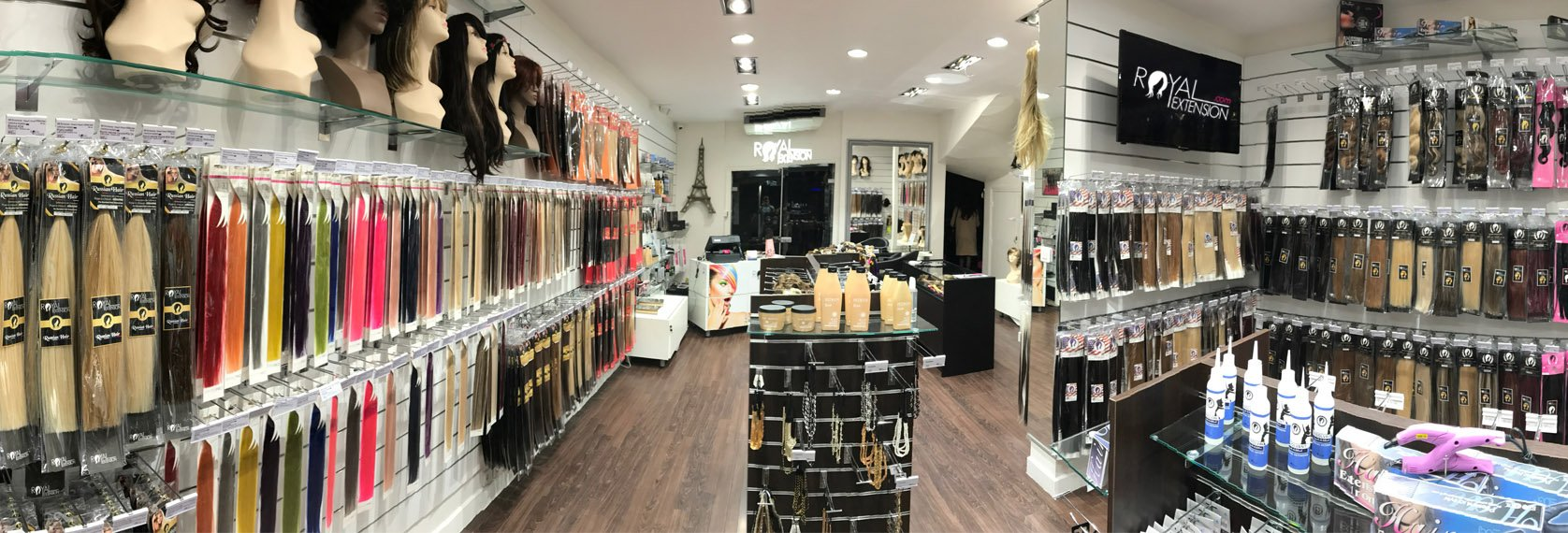 Magasin extension cheveux mons